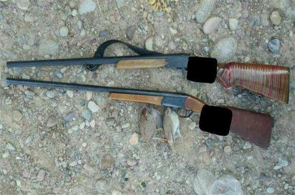 دستگیری چهار متخلف شکارچی در دهلران