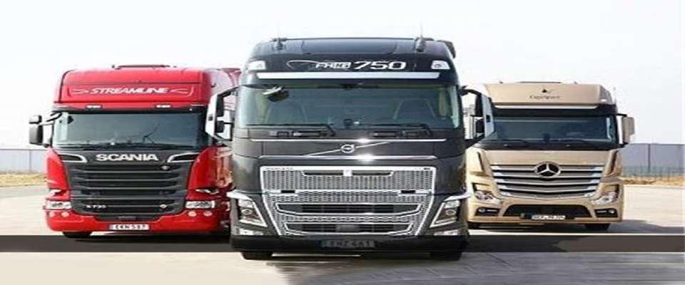 ورود کامیون های اروپایی به چرخه حمل و نقل جادهای تا چند هفته آینده