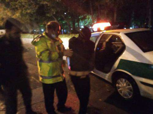 دستگیری سارق موتور سیکلت در حین ارتکاب جرم