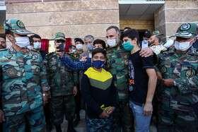 افتتاح مجتمع ۱۱۴ واحدی پادگان شهید قهرمان همدان