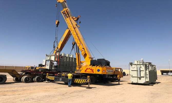 تامین ترانسفورماتورهای قدرت پروژه احداث بخش ۶۳ به ۲۰ کیلوولت پست رستاق