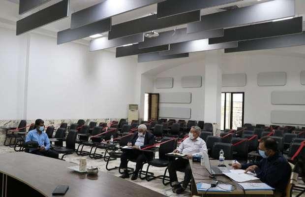 آزمون شفاهی متقاضیان کنترل محاسبات فنی و نقشه ها برگزار شد.