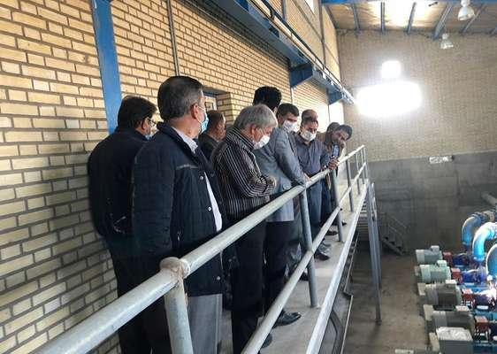 بازدید نمایندگان سازمان برنامه و بودجه و وزارتخانه های نیرو...