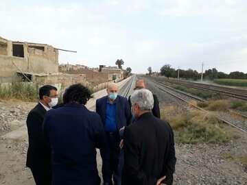 آخرین گام برای تکمیل خط ریلی تهران - ورامین برداشته شد