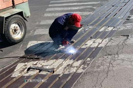 مرمت پل های فلزی جاده ائل گلی