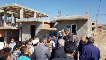 معاون بنیاد مسکن: بازسازی واحدهای آسیبدیده از بلایای سال ۹۸ رو به پایان است