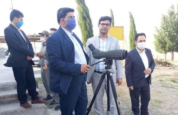 سایت احیا و تکثیر آهوی مغان جاذبه ارزشمند گردشگری شمال استان اردبیل