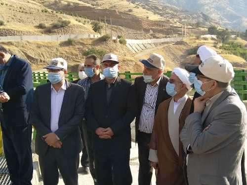 بازدید رئیس و اعضای کمیسیون آب و کشاورزی مجلس از طرحهای...