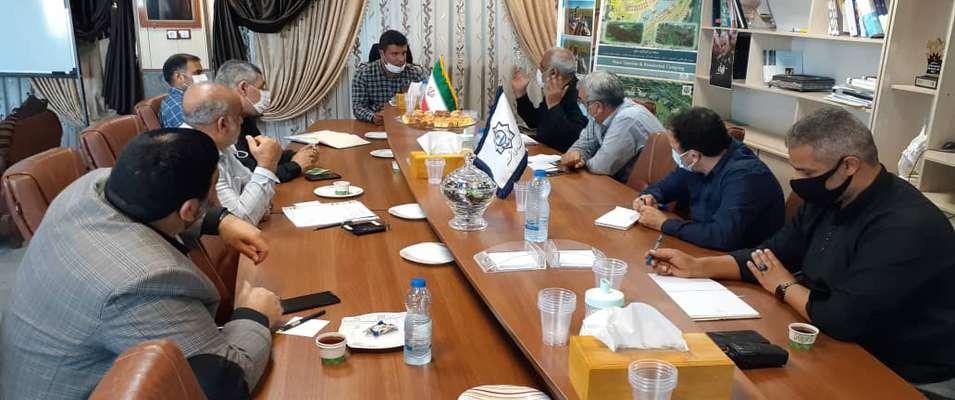 جلسه هماهنگی سرپرست شهرداری خرمشهر با شهرداران مناطق با هدف بهبود وضعیت خدمات شهری