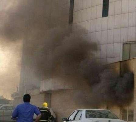 آتشسوزی در برج شهر تبریز، یک مصدوم برجای گذاشت