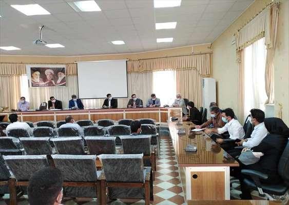 برگزاری جلسه بررسی موانع و مشکلات بازرسی گاز شهرستان جیرفت