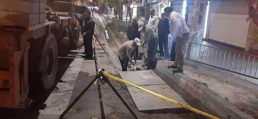 اجرای عملیات ایمن سازی در میدان جهاد