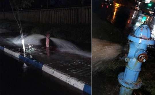 بهبود کیفیت آب 2400مشترک با شستشوی شبانه شبکه های توزیع آب شرب بندرانزلی