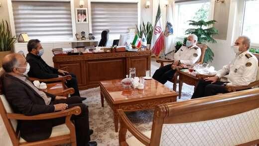 تاکید شهردار تبریز بر اهمیت همکاری پلیس راهور در حل مشکلات ترافیکی کلان شهرها