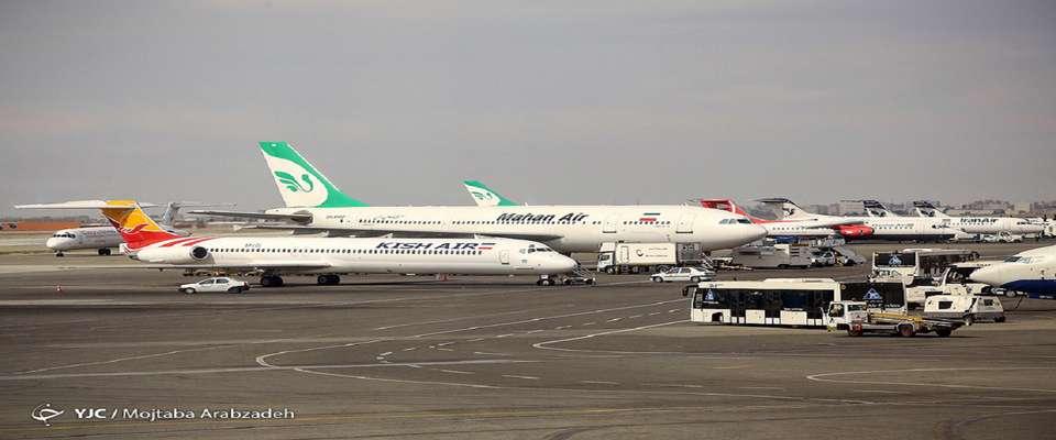 اخطار کرونایی سازمان هواپیمایی کشوری به دو ایرلاین متخلف