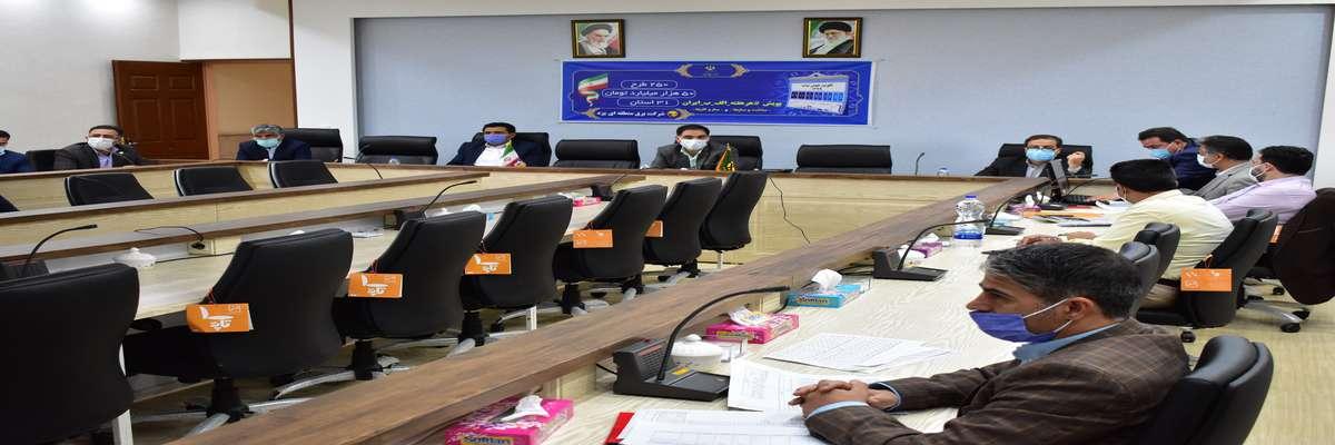 بودجه اصلاحی پیشنهادی ۱۴۰۰ برق منطقهای یزد ارائه شد