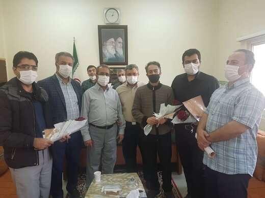 تجلیل از دامپزشکان کشتارگاه تبریز همزمان با روز جهانی دامپزشک