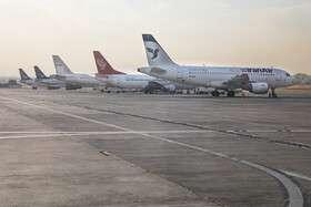 دو شرکت هواپیمایی اخطار گرفتند