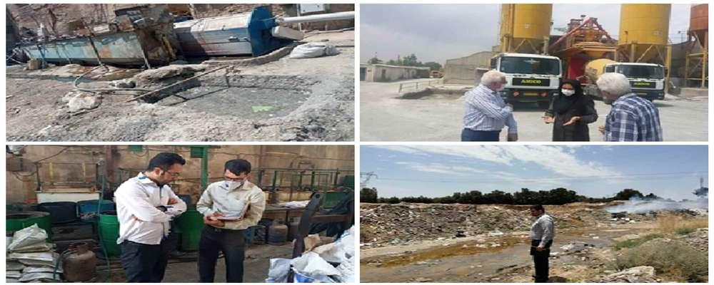 کارت زرد محیط زیست به واحدهای آلاینده در اسلامشهر/ ۱۳۶ واحد در شش ماهه اول اخطاریه گرفتند