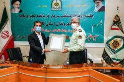 شهردار شیراز از فرمانده نیروی انتظامی فارس تجلیل کرد