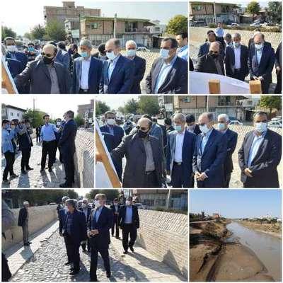 بازدید معاون وزیر نیرو از لایروبی های شهرستان آق قلا/ اجرای...