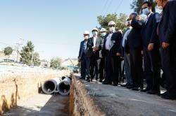 آغاز عملیات اجرایی لوله گذاری خط دوم انتقال آب از دروازه قرآن