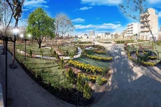 پارک محلهای مدافعان سلامت امروز افتتاح میشود