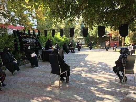 """برگزاری ویژه برنامه """"کوی عشق"""" در پارک رضوان منطقه ۶"""