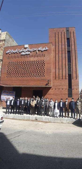 افتتاح ساختمان جدید دفتر نمایندگی نظام مهندسی در زابل