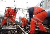 آغاز عملیات ریلگذاری مکانیزه راه آهن همدان-سنندج