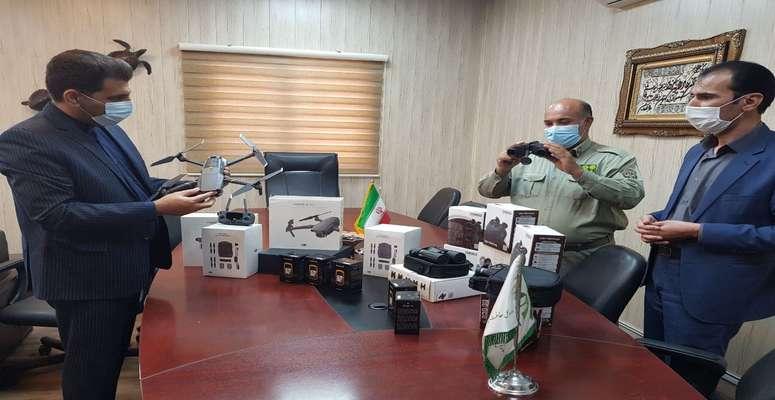 پهپاد های گشت زنی در خدمت محیط زیست سیستان و بلوچستان