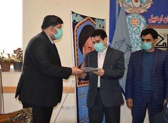 تقدیر محیط زیست از دادستان عمومی و انقلاب استان اردبیل
