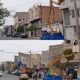 20 کیلومتر شبکه روشنایی معابر اصلی و فرعی در جنوب شهرستان کرج بهینهسازی شد