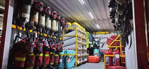 سازماندهی خودروی جدید پشتیبانی عملیاتی در سازمان آتش نشانی