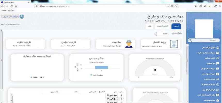 نسخه جدید سامانه جامع خدمات مهندسان راه اندازی شد