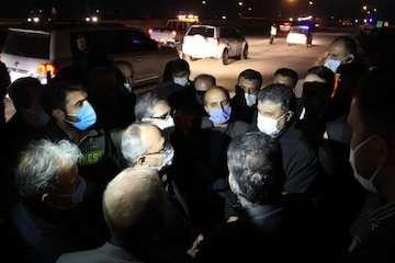 بازدید وزیر از محور سمنان – فیروزکوه، سمنان – سرخه