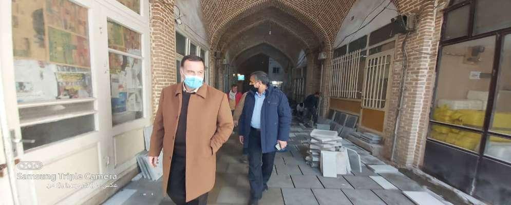 پروژههای متعدد زیرساختی در بافت تاریخی تبریز در حال اجراست