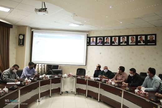 جلسه راستیآزمایی جانمایی و ثبت املاک شهرداری منطقه ۳ برگزار شد