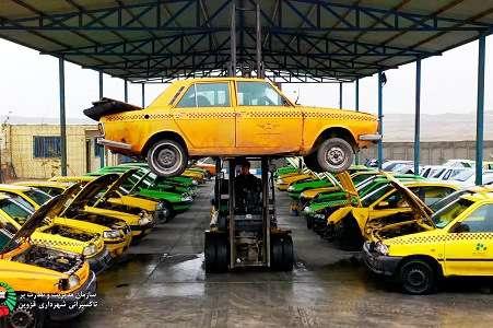 تخصیص تسهیلات ویژه 75 میلیون تومانی برای نوسازی تاکسی های پیکان فرسوده
