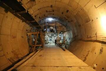 حفاری مکانیزه بخش پایانی پروژه توسعه جنوبی خط ۶ مترو  تهران آغاز شد