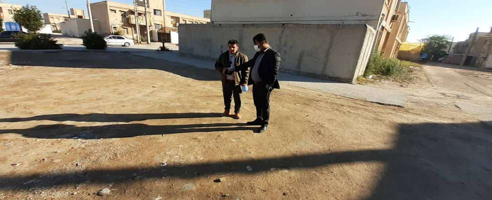 شهردار خرمشهر از بهسازی و زیباسازی محوطه های منازل کوی سوم خرداد خبر داد