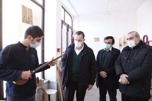 راه اندازی بازارچه صنایع دستی درب استانبول