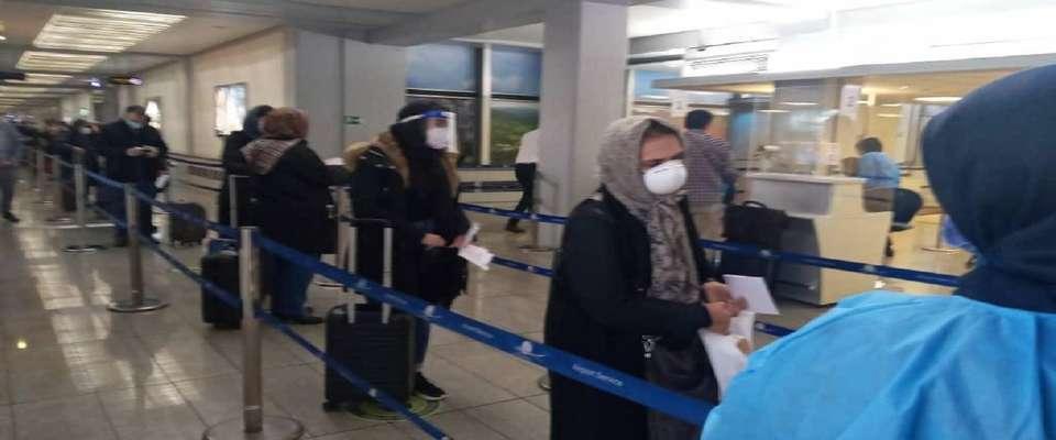جلوگیری از تجمع مسافران در ترمینال های فرودگاه امام خمینی(ره)