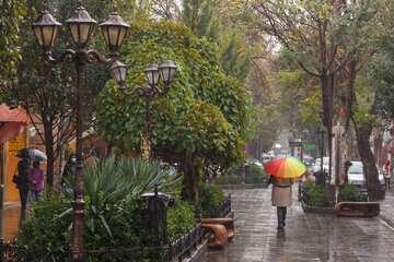 تشدید فعالیت سامانه بارشی در نقاط مختلف کشور