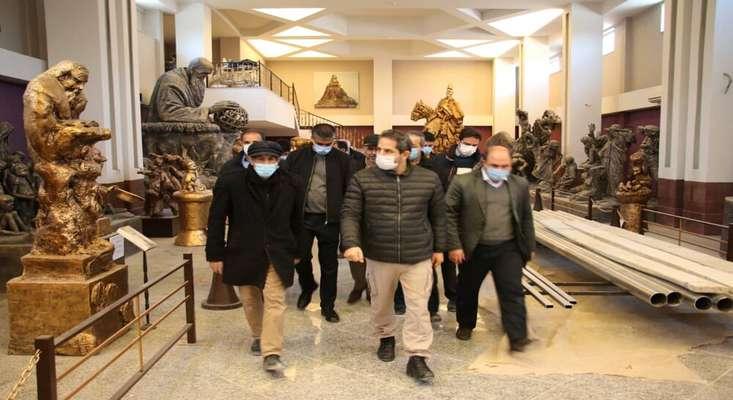 نگارخانه حیدربابا، بزرگ ترین موزه معاصر کشور پیش از عید نوروز افتتاح میشود