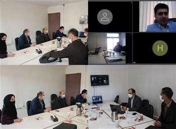 برگزاری چهارمین جلسه گروه تخصصی نقشه برداری با حضور مهندس مومنی مقدم
