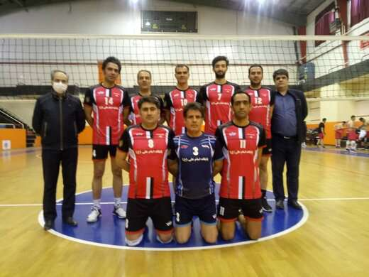 پیشتازی تیم والیبال شهرداری منطقه ۱ تبریز  در  مسابقات قهرمانی بسیج ادارات
