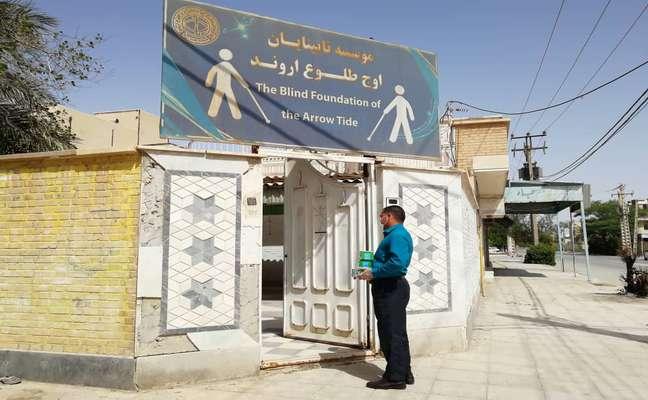 توزیع ۳۱۳ اقلام بهداشتی بین مراکز نابینایان و ناشنوایان توسط شهرداری خرمشهر به مناسبت نیمه شعبان
