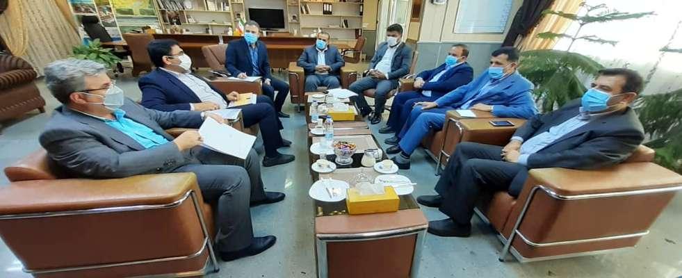 جلسه ستاد بازآفرینی با محوریت پروژه بهسازی بازار صفا توسط شهرداری خرمشهر برگزار شد