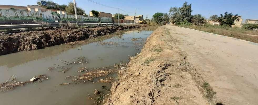 شهردارى خرمشهر لايروبى نهر فيصلى به طول يك كيلومتر را آغاز كرد